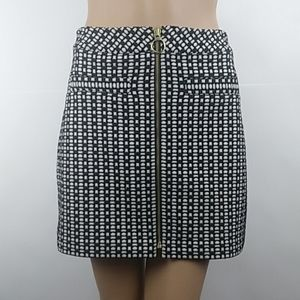 New EXPRESS Zip Front Stretchy Pencil Midi Skirt